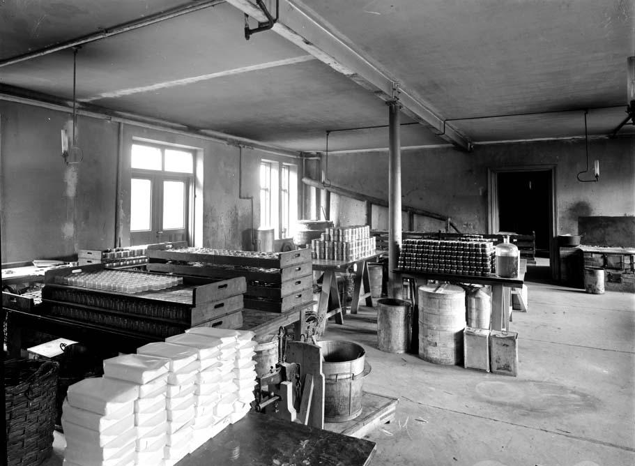 Tillverkning av tvål. Carolinas saml.