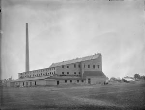 St eriks under byggn 1909, Foto: H Osti. Upplandsmuseet