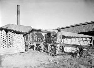 Vaksala Tegelbruk,  Torkelsgatan, 1947 G Sundgren