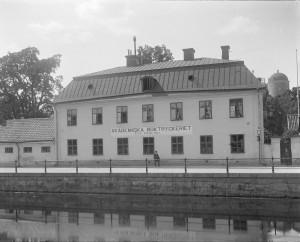 Västra Ågatan någon gång före 1914. Foto: H Osti