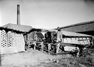 Vaksala Tegelbruk,  Torkelsgatan, 1947 G Sundgren just