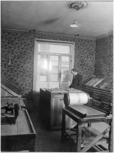Trädgårdsgatan ca 1920. UIM