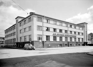 Och så här såg fabriken ut 1944. Foto P Sandberg UM