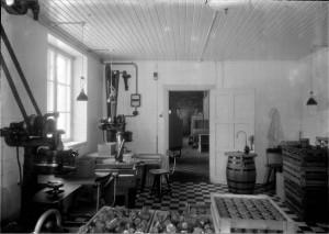 Interiör frå 20-talet. Foto G Sundgren UM