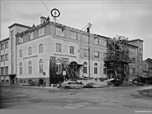 År 1943 var det dags för en ny utbyggnad. Foto P Sandström UM