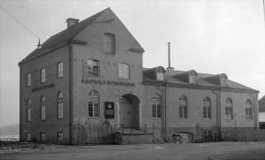 Ättiksfabriken för 1935. Foto G Sundgren. UM
