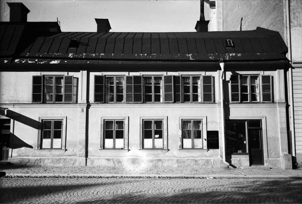 S.t Olofsgatan 8. FotaoA Sagerholm.UM