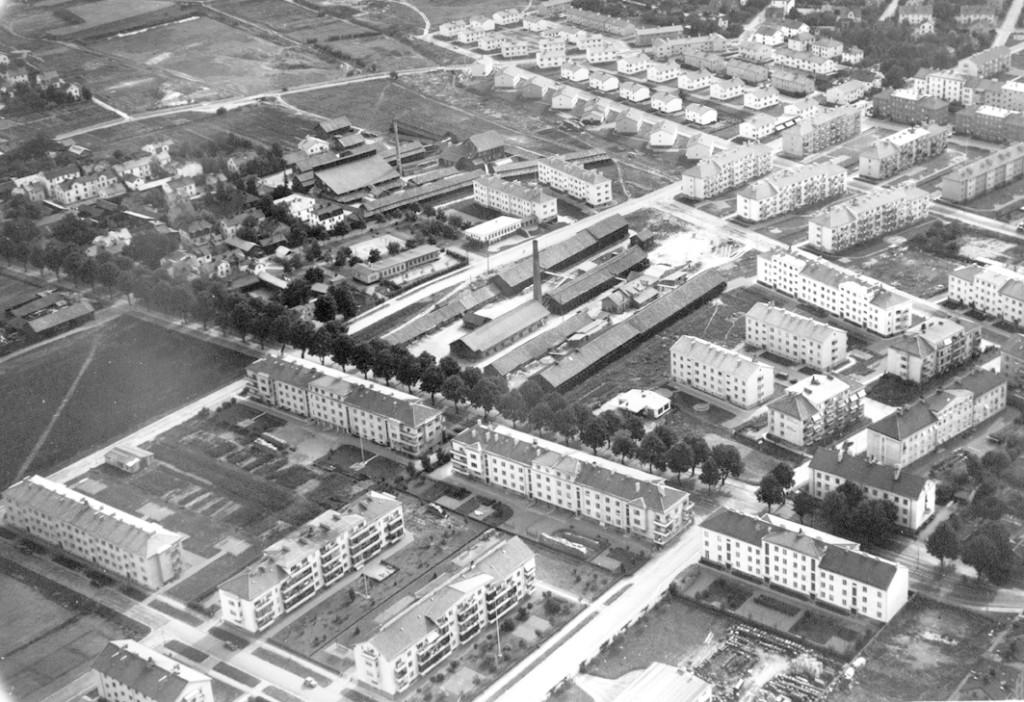 Bladh Na o Södra kvarngärdet m tegelbruken 1947