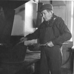 """""""Lacklasse """" Oskar Larsson år 1968. Fotogr. okänd"""