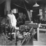 Tvålpilering på 30-talet. (C Holmgren, C Björkman samt Karin Sandin) Foto: Ellen Claesson