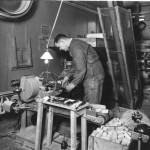Komprimeringsmaskin för tvål (Pelotör) 1938  Östlings