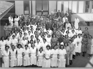Personalen år 1939. Foto: okänd. UIM