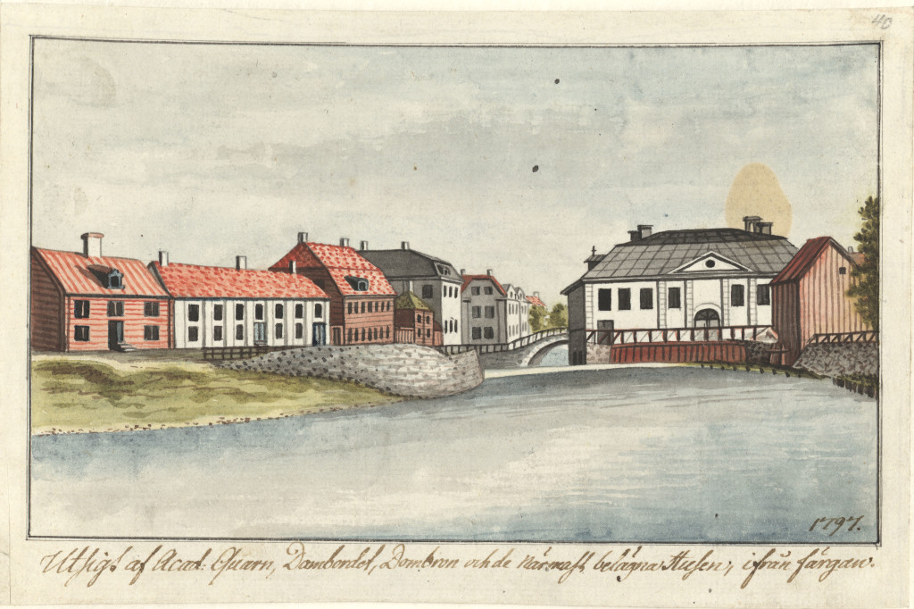 Academikvarnen Härstedt 1797. UUB