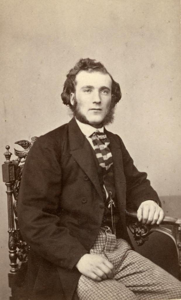 H W Söderman. Fotograf okänd. UUB.